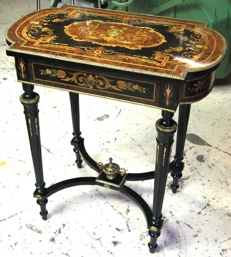 Table Napoléon III - Mauconduit Ebénisterie